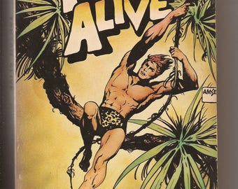 Popular Library, Philip Jose Farmer: Tarzan Alive 1976