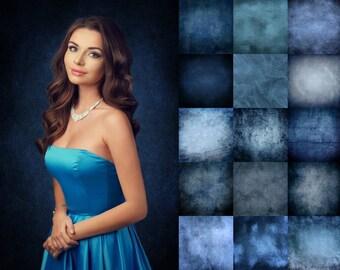 15 Winter textures, christmas overlays, photoshop overlays, digital texture, blue texture, holiday backdrops, winter texture