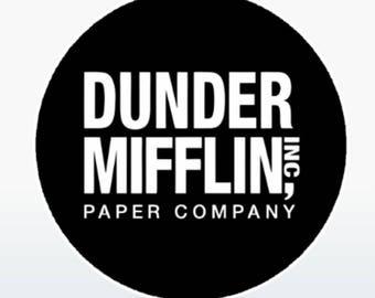 The Office - Dunder Mifflin  Socket Skin Decal for Pop Socket