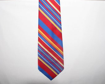 Slone's Executive Apparel Polyester Striped Tie, shipping included US + Canada