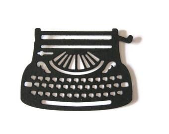 Typewriter Paper Die Cut Set of 12