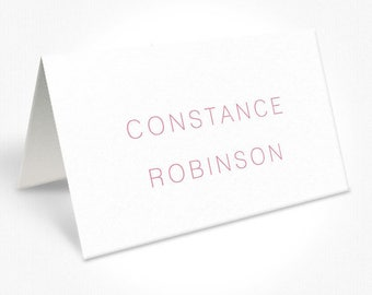 Modern Watercolour Floral Wedding Place Cards, Custom Placecards, Free Colour Changes, DEPOSIT   Peach Perfect Australia
