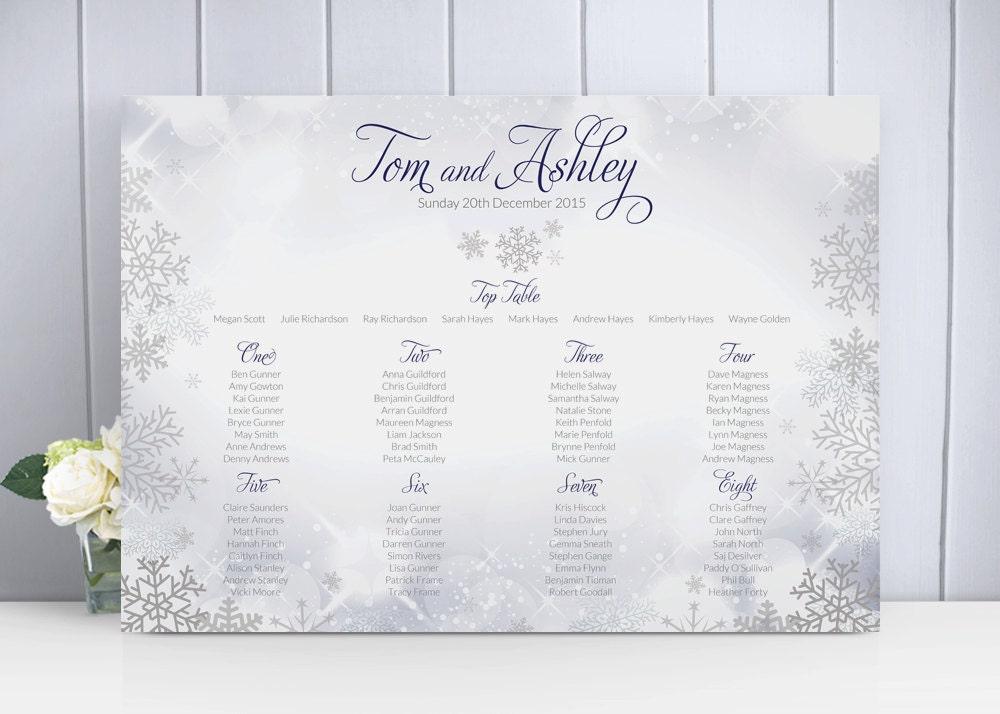 wedding table planner