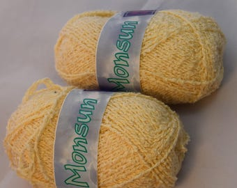 Cotton Blend Creamy Color 100 g from France