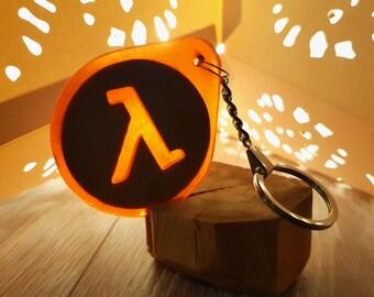 Half-Life 2 logo Keychain