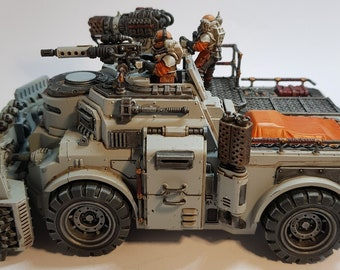 Warhammer Goliath Truck Goliath Rockgrinder (multipart) wargames