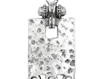 10 rectangle connectors ornate Silver 3 cm x 1.5 cm