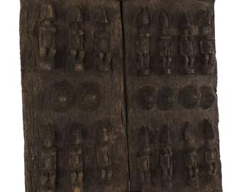 Dogon Door with Figures Mali Miniature African Art 119607