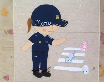 Customizable police box