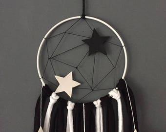 Dream catcher in black and white