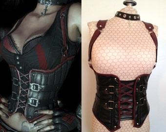 Harley Quinn's Revenge Cincher & Choker Costume