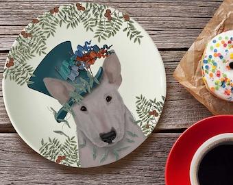 Bone china plate English Bulldog Milliners Dog English Bulldog
