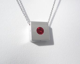 Modern Necklace – Modern Contemporary Jewelry – Sphere Pendant