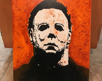 Michael Myers ORIGINAL Painting