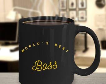 Worlds best boss, coffee, coffee mug, best manager mug, greatest boss mug, boss gift, boss christmas gift, mug for boss, boss coffee mug