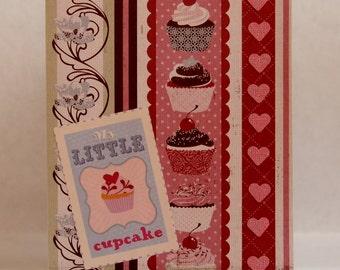 My Little Cupcake Card