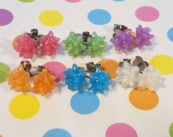 Konpeito Star Candy Stud Earrings