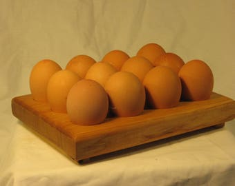 Egg storage racks for twelve eggs (4 x 3)