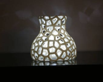 """Lamp """"Jellyfish"""" BIO plastic 3D printed"""
