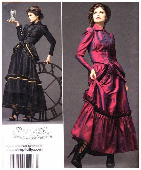 Simplicity 2207 Sewing Pattern ( Size 14-20 ) Misses Costume ...