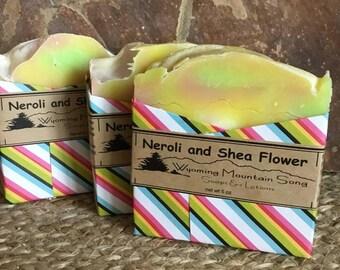 Neroli and Shea Soap