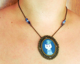 Marie Antoinette. Necklace. Cameo