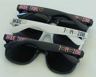 Personalized Sunglasses, Bridal Party Sunglasses, Bachelorette Sunglasses, Party Favors, Birthday Sunglasses, Wedding Sunglasses