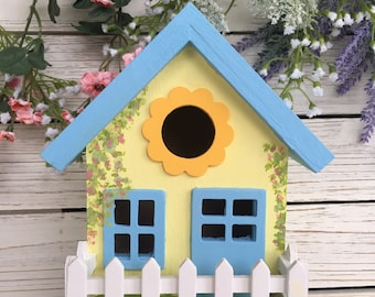 Hand Painted Birdhouse
