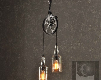 The Warehouser Industry - Farm Pulley, Industrial Lighting, Pulley Lamp