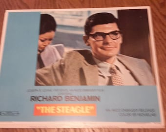 the steagle richard Benjamin lobby card 1971