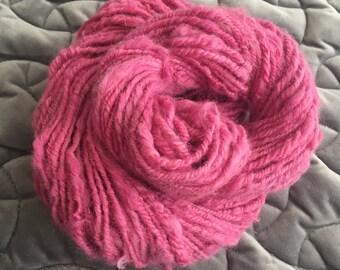 Raspberry Alpaca Yarn
