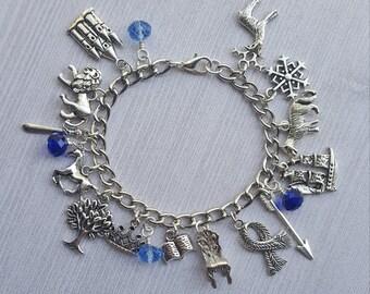 Chronicles of Narnia Charm Bracelet