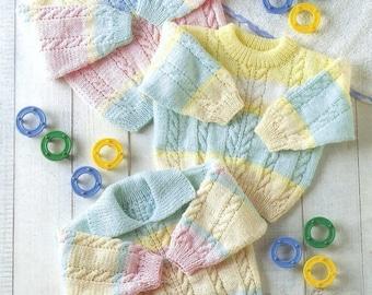 sweaters dk knitting pattern 99p