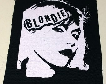 BLONDIE patch goth gothic punk rock Free Shipping