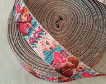 Frozen Ribbon | Bow Making Ribbon | Bow Making Ribbon | Bow Supplies | Grosgrain Bow Ribbon |