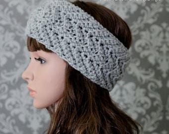 Crochet PATTERN - Crochet Headband Pattern - Crochet Pattern Headband - Instant Download - Digital Download - Crochet Head Wrap - PDF 434