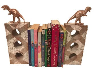 Brick Toy Book Ends