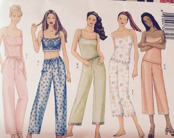 Misses' Camisole and Pants Pattern Butterick 6883