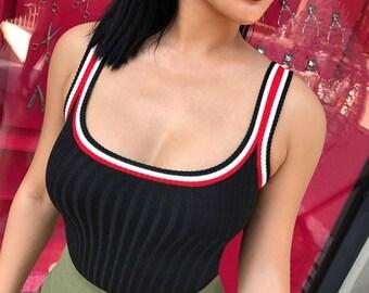 Black Tank Top