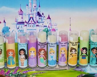 Lip Balm, The Little Mermaid, Princess Ariel, Little Mermaid Birthday Party Favors, Princess Party Favor Prizes, Princess Birthday, Girls