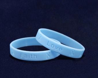 50 Prostate Cancer Awareness Silicone Bracelets (50 Bracelets) (SILB-12)