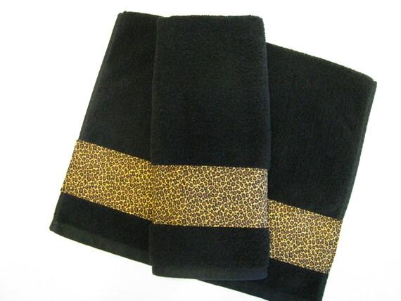 Leopard Bath Towels Leopard Bath Towels Hand Towels