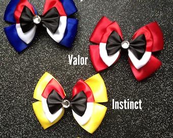 Mystic, Valor, Instinct inspired bows