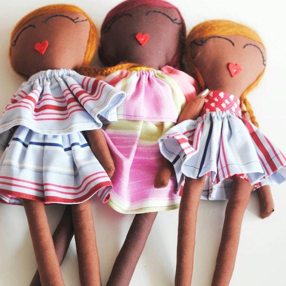 Fela and Friends Handmade Dolls