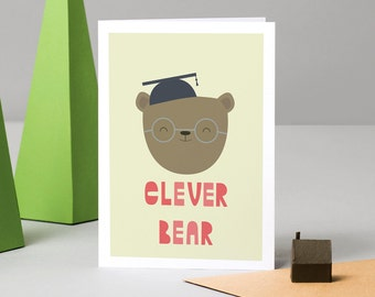 Clever Bear Card