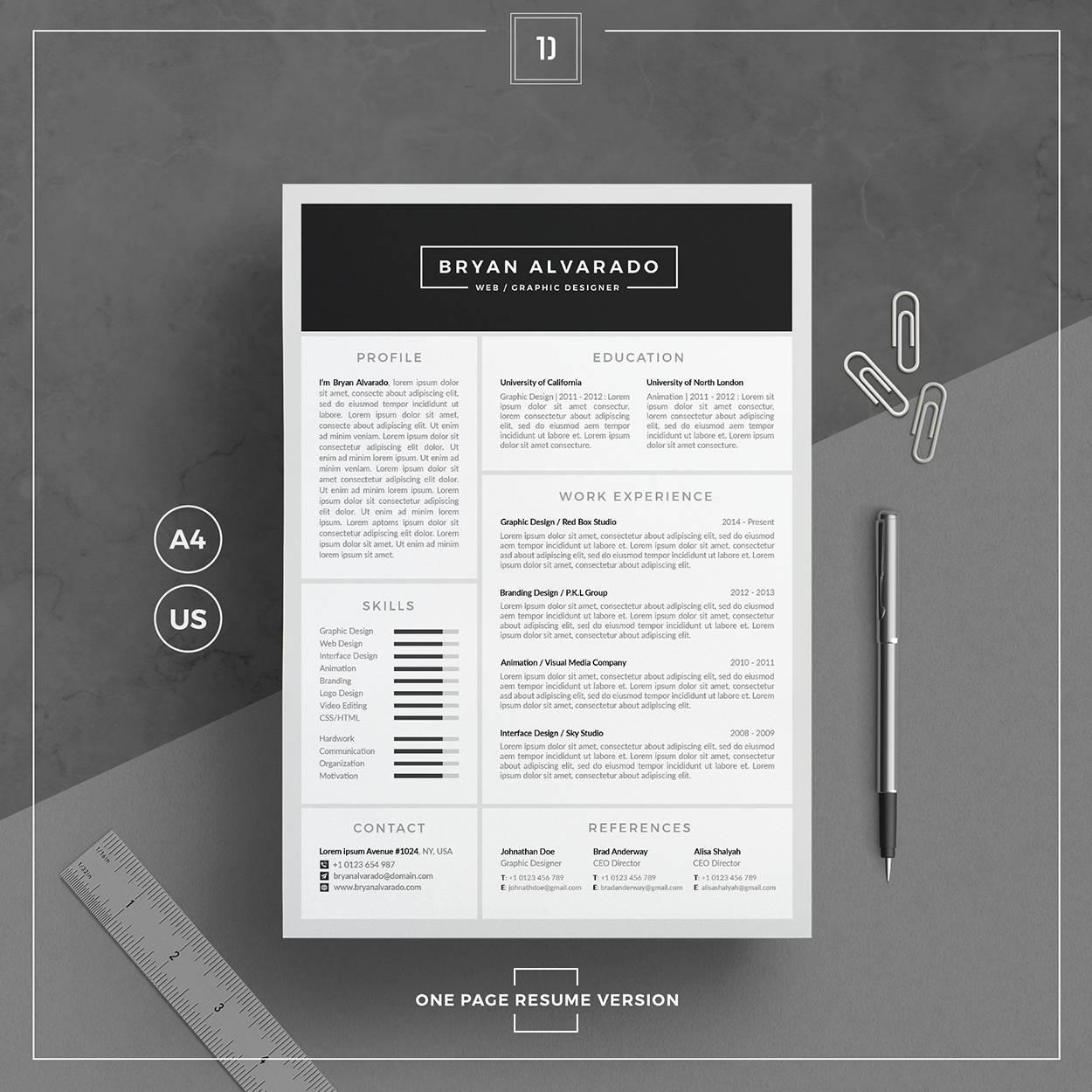 Ungewöhnlich Design Lebenslauf Vorlagen Wort Zeitgenössisch - Entry ...
