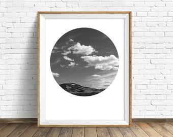 "nature photography, large art, large wall art, printable art, instant download printable art, art print, landscape prints - ""Spring Skies"""