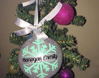 Custom Christmas Ornament