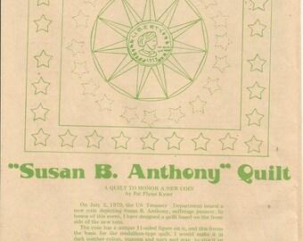 Vintage Susan B Anthony Quilt Pattern