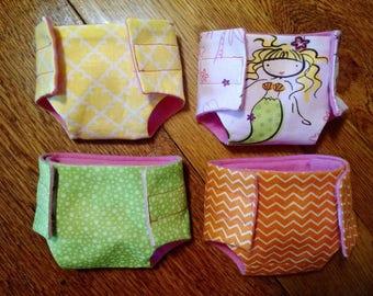 Custom Handmade Baby Doll Diapers